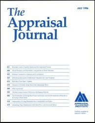 The Appraisal Journal, July 1996